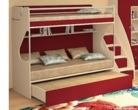 Детские двухъярусные кровати.