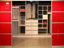 Шкафы-купе и гардеробные