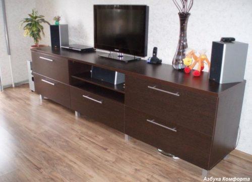 тумба телевизор купить в Донецке недорого